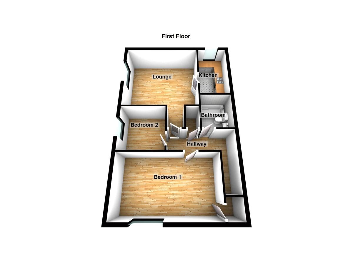 Dysart Street, Ashton-under-Lyne Floorplan