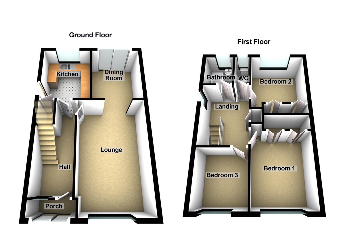 Sherwood Close Floorplan
