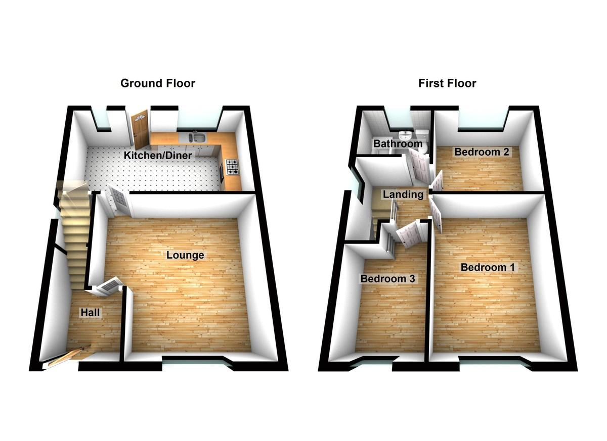 Smallshaw Lane Floorplan
